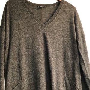 Eileen Fisher Dresses - Eileen Fisher Merino Wool Vneck Dress